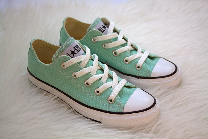 125d954cd85 New In || Converse All Star mint green - The New Girl In Town