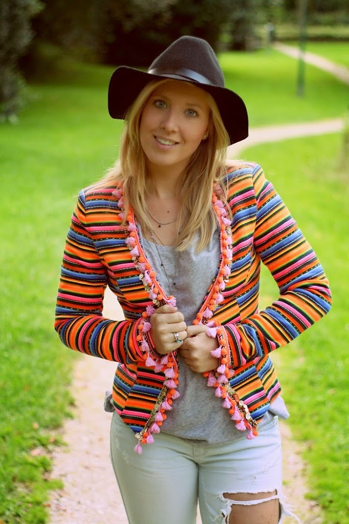 New Town In Style Girl OutfitIbiza The Blazer WEDH29YI