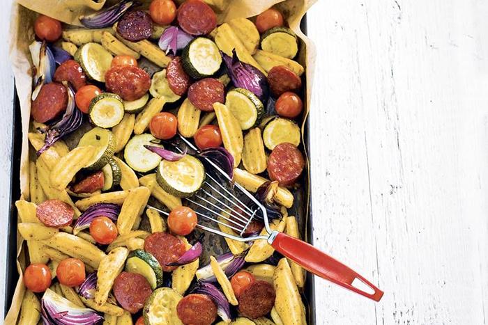 favoriete avondeten recepten - ovenschotel chorizo
