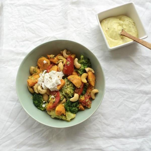 favoriete avondeten recepten - zoete aardappel broccoli