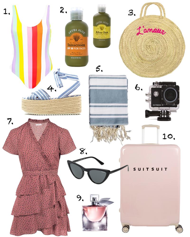 Inpakken en wegwezen: zomer musthaves