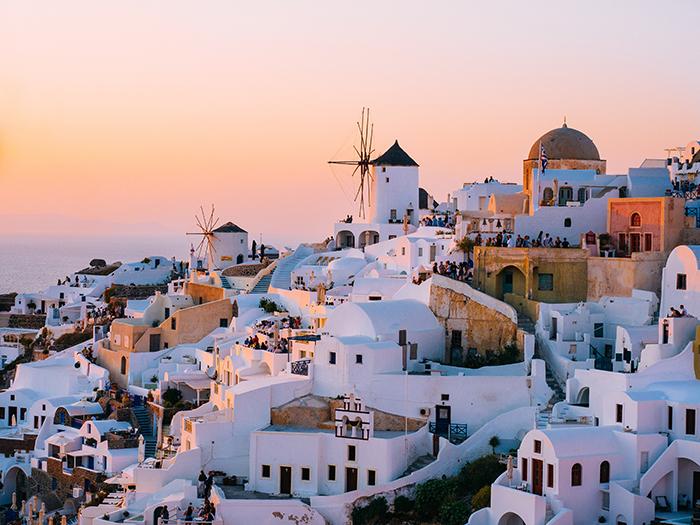 vakantiebestemmingen Santorini