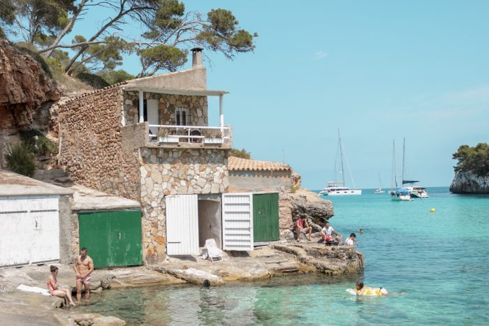 stranden van Mallorca Cala Llombards